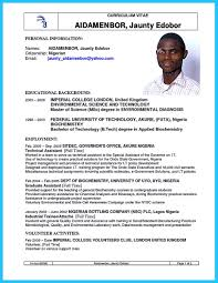 Biotech Resume Examples There Are Two Types Of Biotech Resume One Is The Academic Resume