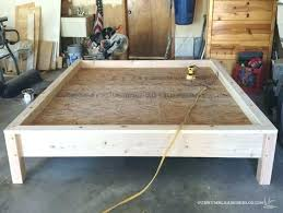 homemade bed frame ideas king bed build plan how to build a wooden bed frame king homemade bed frame