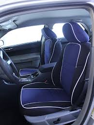 dodge charger full piping seat covers