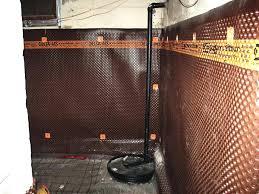 waterproofing basement walls from inside waterproofing