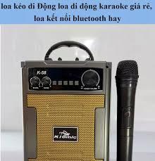 Loa Karaoke Bluetooth Kiomic K58/K59-Cao Cấp-Mẫu Mới 2020-Kèm 1 Micro Không  Dây Hát Siêu Hay Âm Thanh Cực Đỉnh Thiết Kế Nhỏ Gọn Tích Hợp Nhiều Chức  Năng. Phù Hợp Cho Karaoke