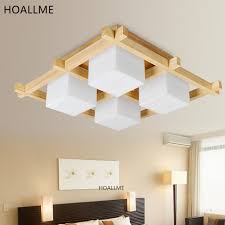 good lighting for study room. japanese style bedroom living study room ceiling light fixture wood led new chinese modern minimalist square good lighting for