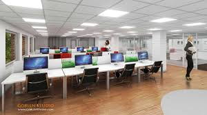 commercial office space design ideas. simple design commercial office space interior 3d architectural rendering in office space design ideas