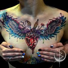 татуировка на груди наши тату мастера помогут правильно разработать