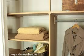 easy diy wall to wall closet shelves