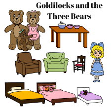 printable story book characters little red riding hood goldilocks and the three little pigs