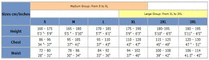 Hit Air Size Chart Hit Air Motorcycle Light Weight Airbag Vest Reflective