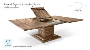 Dining Table Square Extendable