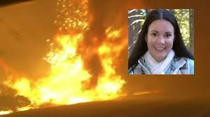 California wildfire: Nurse in burning car says 'husband told me don ...