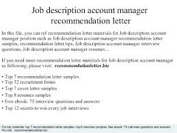 Interview Questions For Account Managers Cover Letter For Account Officer Cover Letter Account Manager Cover