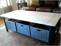 coffee table with baskets underneath coffee table with baskets underneath coffee table with baskets underneath under