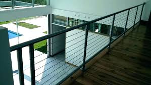interior glass railing cable systems per indoor canada