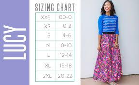 Lucy Size Chart Lularoe Amanda Lee Richardson Meyer High