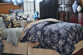 blue toile bedding sets blue bedding comforter