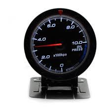 2019 2.5 Inch <b>60MM 12V</b> Car Gauge Meter <b>Oil</b> Pressure Gauge ...
