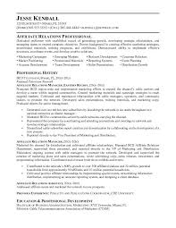 resume - Affiliate Manager Resume