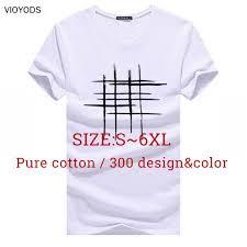 T-Shirt cotton blouse <b>Printed letters Big</b> yards Top&Tee <b>men</b>/woman ...