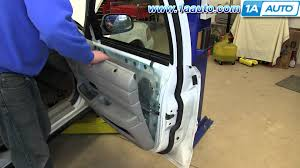 install front doorHow To Remove Install Front Door Panel Ford Crown Victoria  YouTube