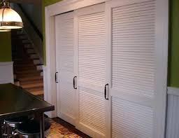 louvered closet doors interior menards sliding home depot