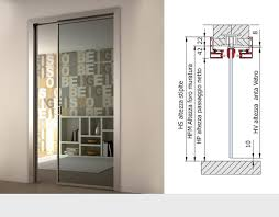 aluminium door frames on wall for glass