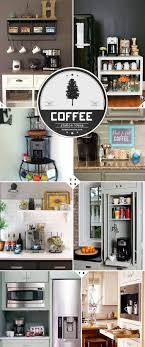 Kitchen Coffee Station Home Barista Kitchen Coffee Station Ideas And Designs Home Tree