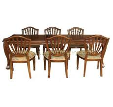 Solid wood dinning set Chunky Classic Solid Wood Dining Table And Chairs Flipkart Classic Solid Wood Dining Table And Chairs Buy Dining Table