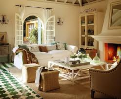 Traditional Rustic Style Living Rooms Style
