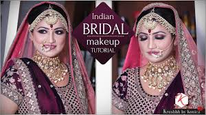 indian bridal traditional makeup tutorial step by step makeup tutorial krushhh by konica