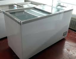 glass chest freezer glass top freezer for island freezer commercial chest freezer display freezer best