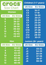 31 Uncommon Crocs Size Chart For Toddlers