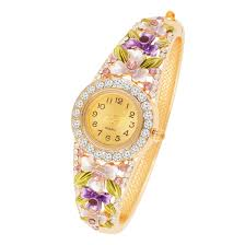 Designer Watches For Women Womens Fancy American Diamond Studded Watch Buy Designer Watches For Womens Online