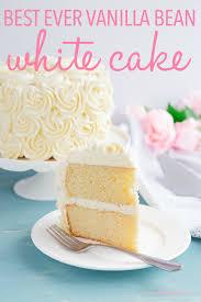 Best Ever Vanilla Bean White Cake The Busy Baker