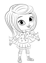Shimmer And Shine Printable Coloring Pages To Download Free