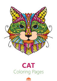 Filecat Coloring Pages For Adults Printable Coloring Bookpdf