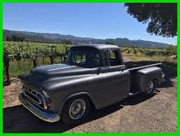 1957 Chevrolet Long Bed Pickup Truck 350 V-8 291 HP for sale: photos ...