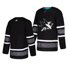 Star All San Sharks Jose Jersey