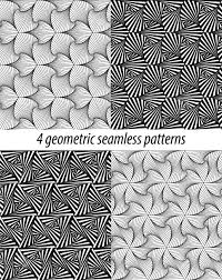 Zentangle Patterns Interesting Set Of 48 Vector Zentangle Patterns Black And White Zentangle