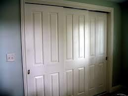 Sliding Closet Doirs 6 Panel Sliding Closet Doors Brackets Design Closet Organizer