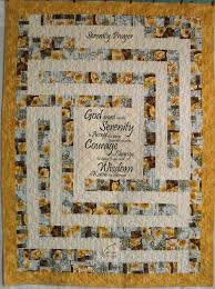 7 best Prayer Quilts - My Work images on Pinterest | Prayer ... & Serenity Prayer Labyrinth Prayer Quilt by patchworkflamingo, $95.00 Adamdwight.com