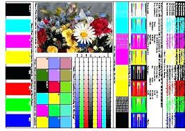 Laser Printer Color Test Page This Color Laser Printer Test Page