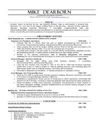 sample resume hr