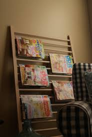 ... Racks, Wall Mount Magazine Racks Design: Outstanding Magazine Racks For  Home ...