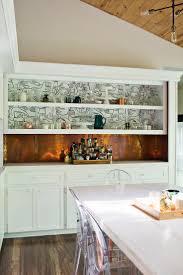 Kitchen Backsplash Wallpaper Best 25 Wallpaper Shelves Ideas On Pinterest Diy Bedroom Decor
