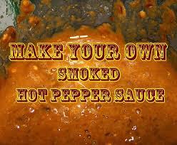 a diy smoked hot homemade pepper sauce recipe