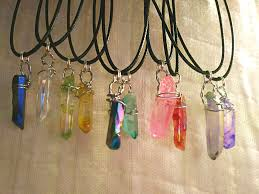 choose your custom healing rose quartz crystal necklace below based on color and meaning coloreanings are in the dropdown
