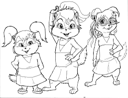 Small Picture Download Coloring Pages Alvin And The Chipmunks Coloring Pages
