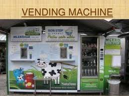 Milk Being Supplied In Tetra Pack And Through Vending Machines