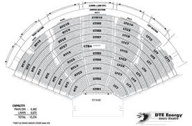 Dte Music Theater Seating Chart 41 Curious Dte Music Theater Seating Chart With Seat Numbers