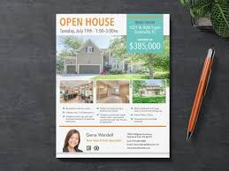 Microsoft Real Estate Flyer Templates Real Estate Flyer Template Adobe Indesign Apple Pages Microsoft Publisher And Word