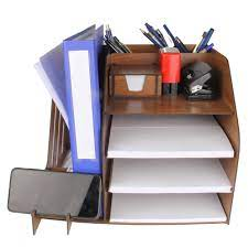Masa Üstü Organizer A4 Ahşap Evrak Rafı Pratik Düzenleyici Fiyatları ve  Özellikleri